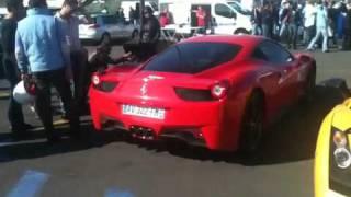 Ferrari 458 italia sound