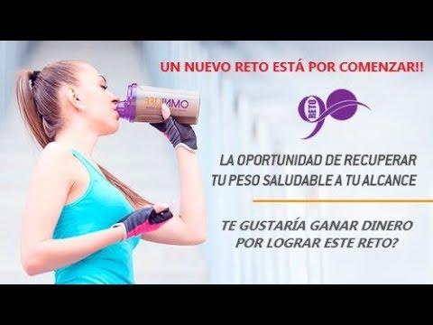 Reto para bajar de peso omnilife mexico