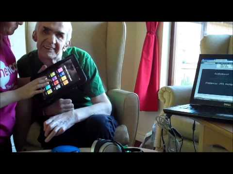 LiveNet Assistive Technology Workshops  Dungannon Care Home part 4 of 9