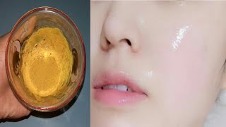 Cara Bikin Kulit Wajah Putih Glowing Seperti Kaca Dengan Kunyit Dan Pasta Gigi