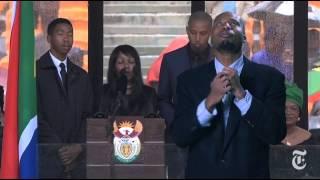 fake sign language interpreter at mandela memorial