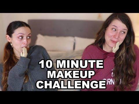 10 MINUTE MAKEUP CHALLENGE W/ KATHLEENLIGHTS