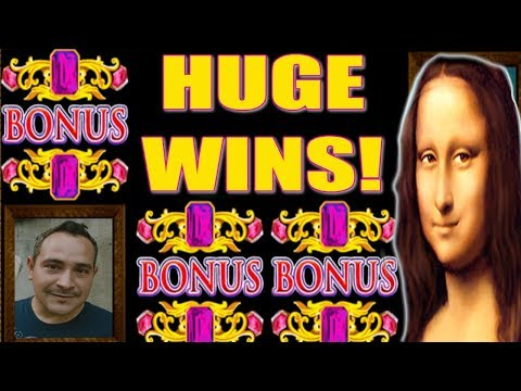 ★ HUGE BONUS WINS on Davinci Diamonds 💎 Slot Machine Video Special by Slot Traveler