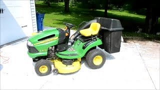 How To Remove The Mower Deck on a John Deere Tractor
