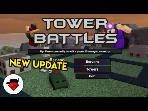 Checking out the NEW Tower Battles Update | Tower Battles Simulator [ROBLOX]