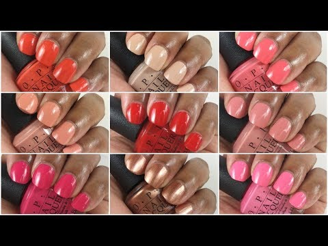 OPI California Dreaming | Live Swatch & Review