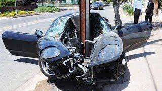 Авто приколы. Автомобильные аварии 1. Car Crashes 1.