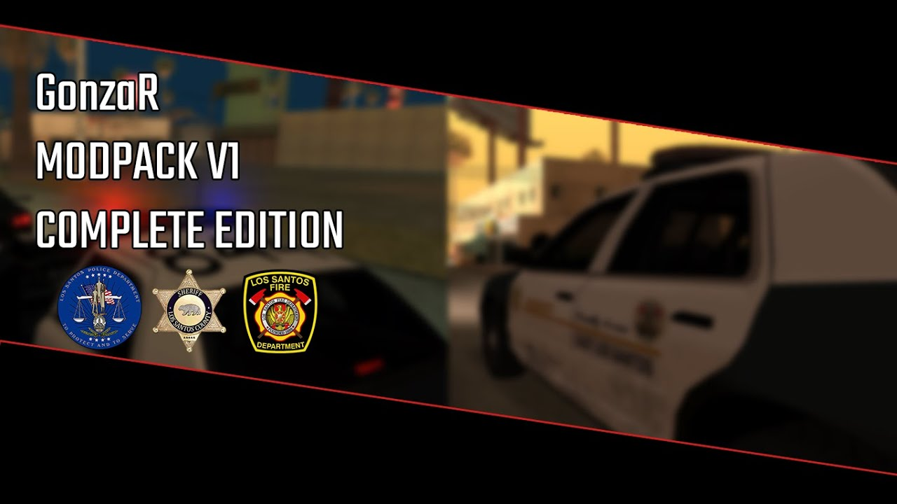 Download GTA SA GONZAR MODPACK V1   SA STYLE   PS2   PD, SD & FD   VEHICLES, GUNS, SOUNDS & AND MORE