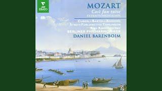 """Mozart : Cosi fan tutte : Act 2 """"Fate presto, o cari amici"""" [Fiordiligi, Dorabella, Despina,..."""