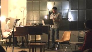 Antoine Beuger - three drops of rain / east wind / ocean (live @ the wulf. 1/6/13)
