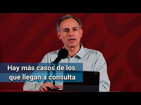 Hay más contagios de Covid-19 de los confirmados: Hugo López-Gatell