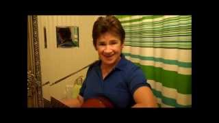 HAPPY BIRTHDAY JUST FOR YOU sung by Eveline & her guitar