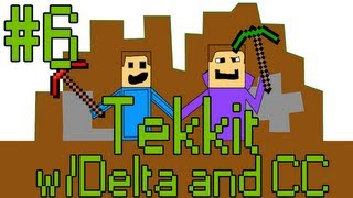 Minecraft: Tekkit Adventures w/David and CC - Part 6 - COPPER …