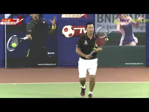 Chương trình hướng dẫn tennis Breakpoint Phần 14 - HLV Trương Quang Vũ