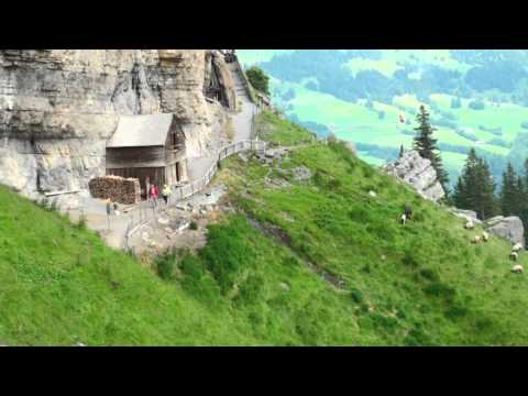 Appenzell Gasthous Aescher  switzerland july 2014