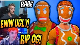 Streamers React To Merry Marauder & Ginger Gunner Skins Fortnite Item Shop Today FUNNY BEST Moments
