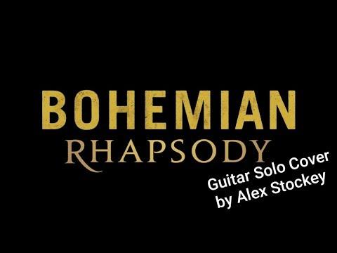 Queen - Bohemian Rhapsody (Guitar Solo Cover By Alex Stockey)