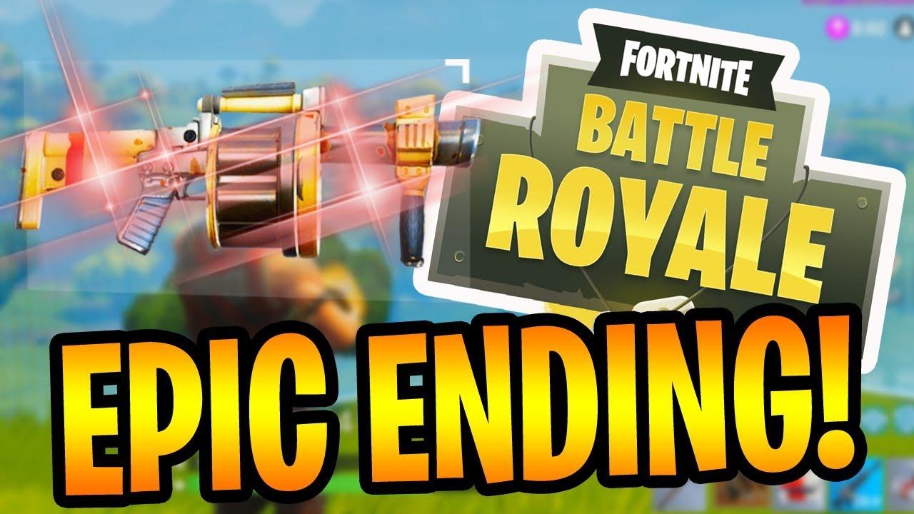 epic duo ending fortnite battle royale gameplay - end of fortnite