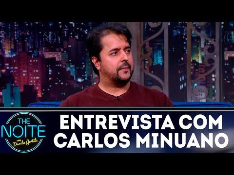 Entrevista com Carlos Minuano | The Noite (11/07/18)