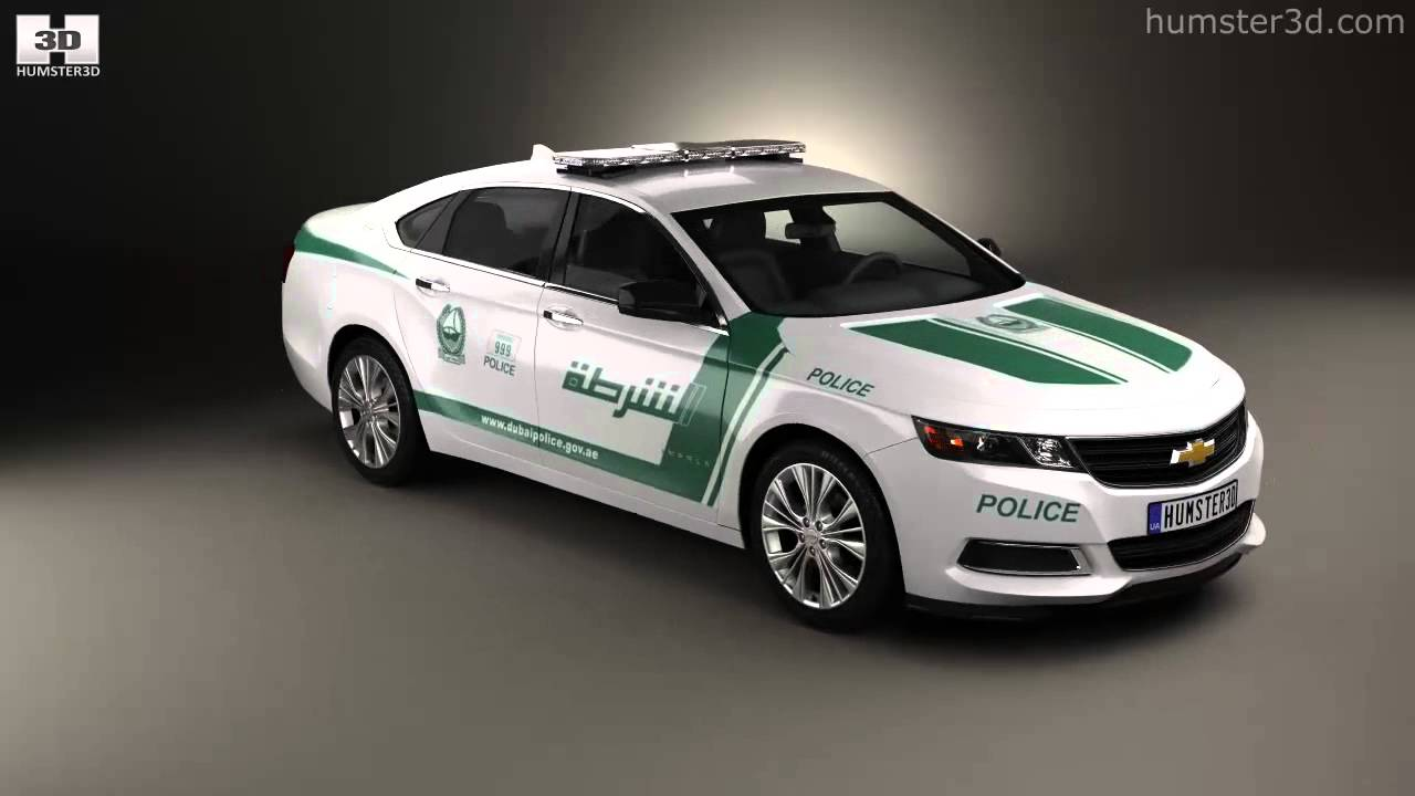 Chevrolet Impala Police Dubai 2017 By Model Humster You
