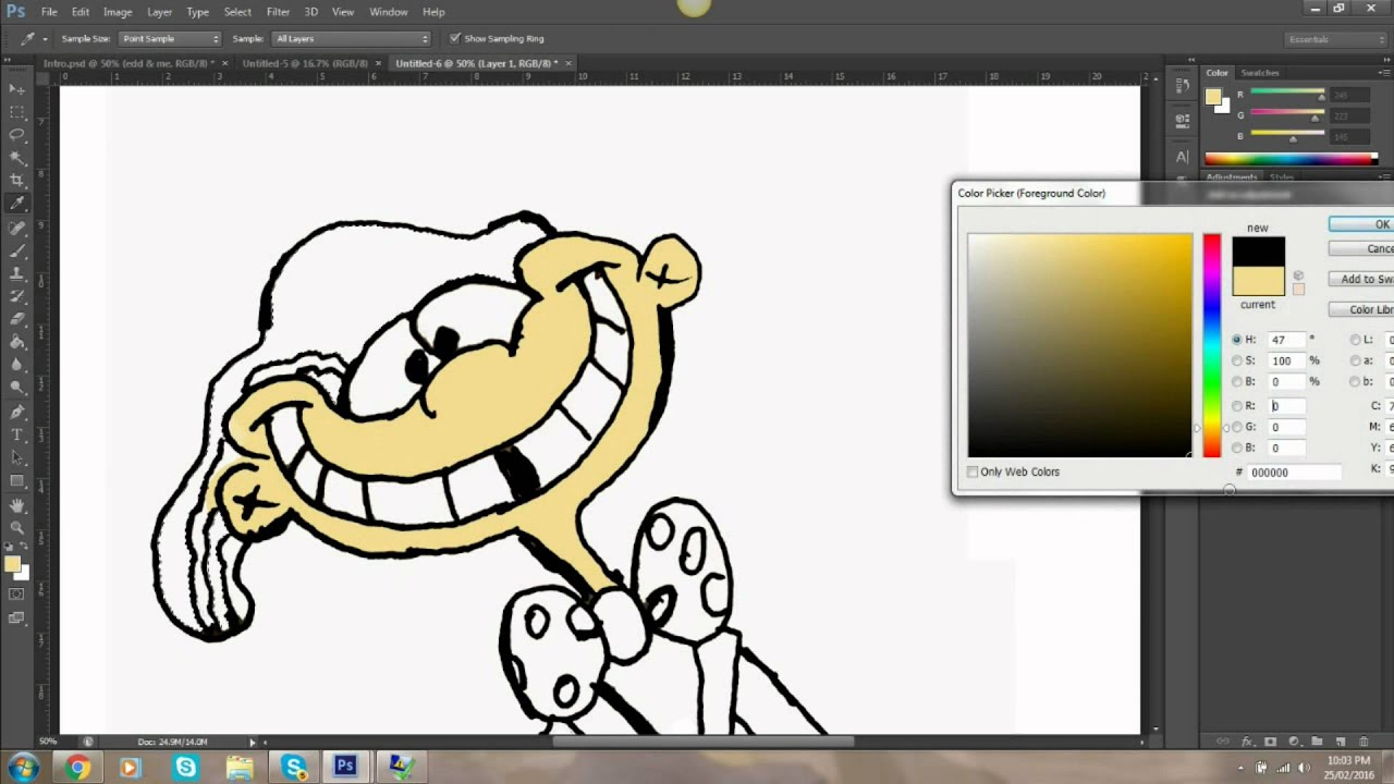 how i do my ask ed edd n eddy art youtube
