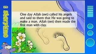 The Story of Prophet Adam (as) with Zaky - The First Man | HD
