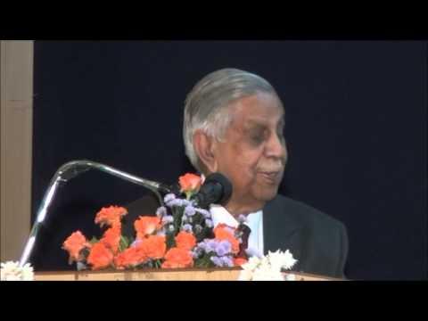 Speech of Justice M N Venkatachalaiah