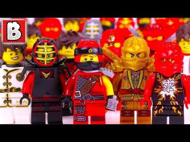 Kai ninja ninjago original Lego figure cmf series