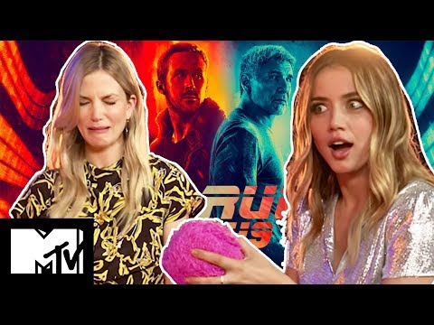 Blade Runner 2049  Ana De Armas & Sylvia Hoeks GUESS THE GADGET challenge  MTV Movies