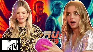 Blade Runner 2049 | Ana De Armas & Sylvia Hoeks GUESS THE GADGET challenge | MTV Movies