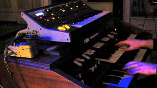 Celestial voices from A saucerfull of secrets by Pink Floyd (Hammond+Moog)