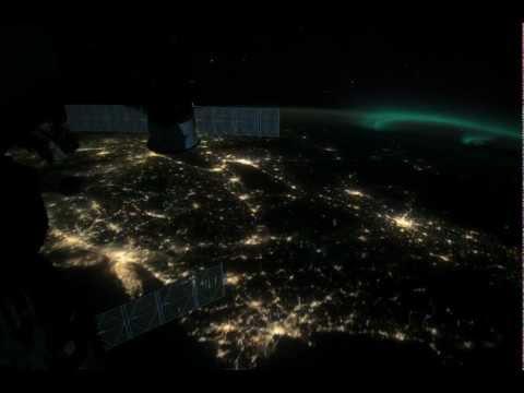 Aurora Borealis across Northern United States