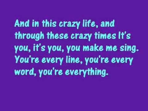 michael bublé everything lyrics