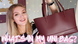 WHAT'S IN MY UNI BAG?! - First Year Art Student