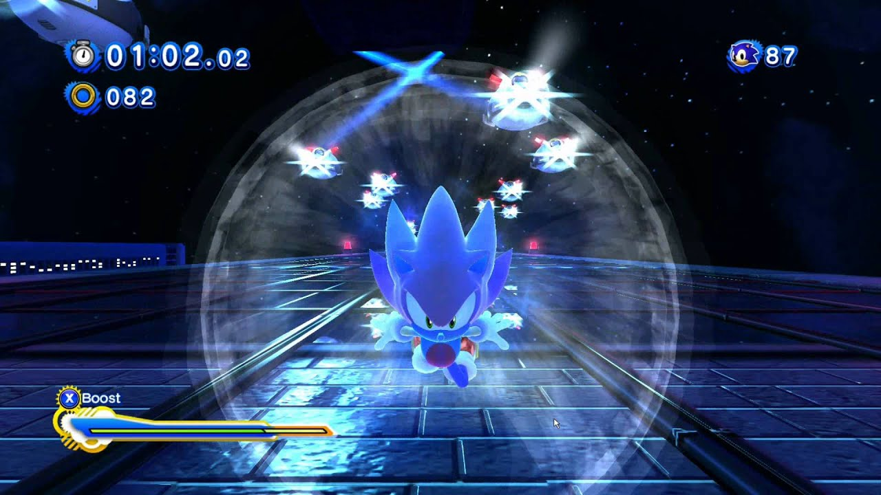 Ring Counter Sonic