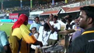 Chennai Super King drums sivamani