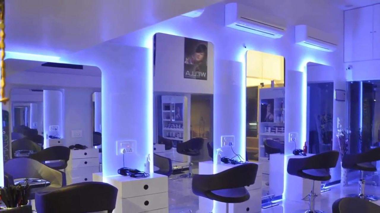 Ladies Beauty Parlour Interior Design Pictures How To Decorate Youtube