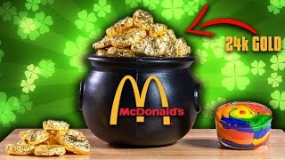 $1500 Mcdonald's Nuggets (24k Gold) - Epic Meal Time