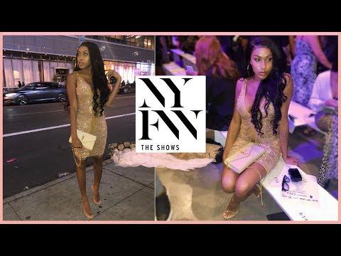 #NYFW   MY CRAZY FRIDAY, THE BLONDS SHOW, U0026 DOTE PHOTOSHOOT   Jayla Koriyan TV