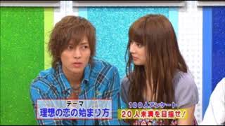 北川景子さんがTOKIO司会のバラエティ番組に出演時、TOKIOの後輩である...