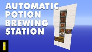 Simple Self Refilling Automatic Potion Brewing Station For Minecraft 1.14.4 (Tutorial)