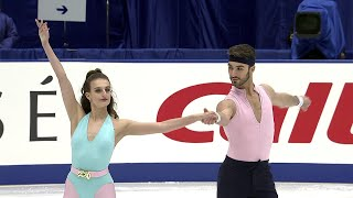 Габриэлла Пападакис - Гийом Сизерон. Ритм-танец. NHK Trophy. Гран-при по фигурному катанию 2019/20