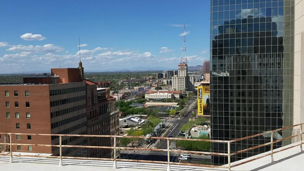 hilton garden inn hotel rooftop video tour phoenix arizona - Hilton Garden Inn Phoenix Downtown