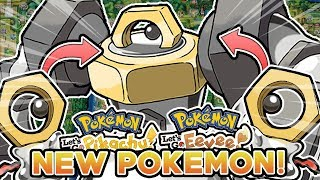 NEW POKEMON MELMETAL REVEALED! MELTAN'S EVOLUTION! POKEMON LET'S GO PIKACHU & LET'S GO EEVEE!