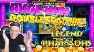 HUGE WIN ON Legend of the pharaohs - Casino Games