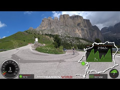 90 Minute Virtual Cycling Workout Alps South Tyrol Italy Ultra HD 4K Video
