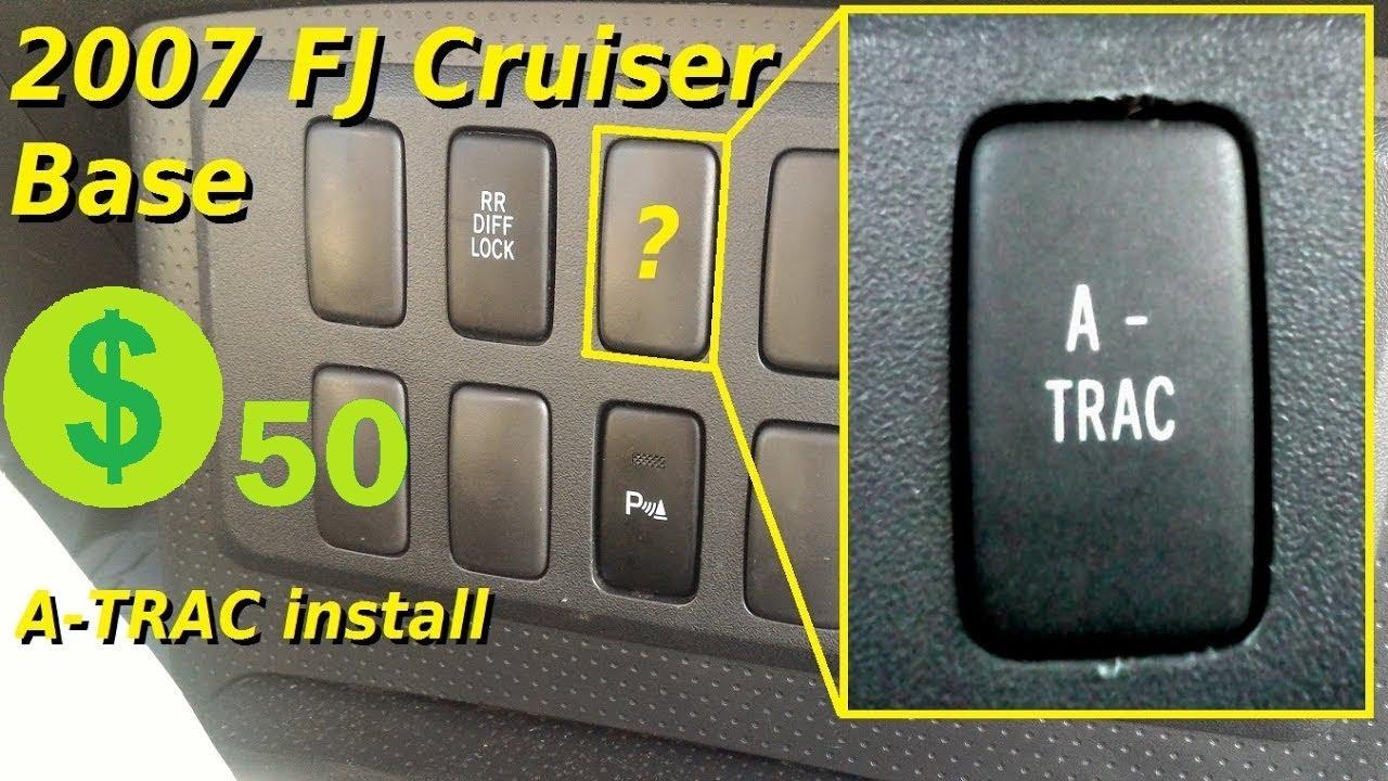 Fj Cruiser Base Model A Trac Upgrade Youtube
