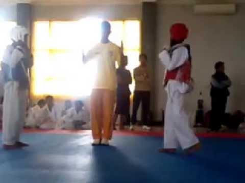 Taekwondo PORKAB Kab.malang