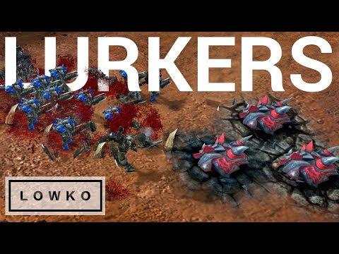 StarCraft 2: LURKERS vs Terran?!