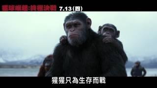 【猩球崛起:終極決戰】30 TVC 猩猩宣言篇